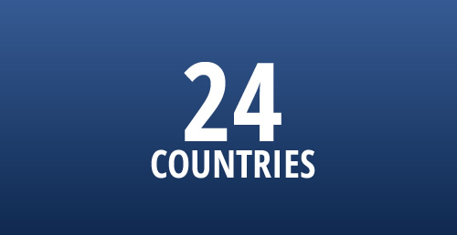 24 countries